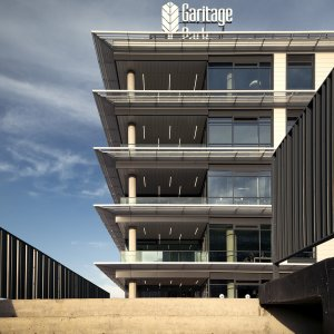 Photo of the completed phase - Garitage park Sofia