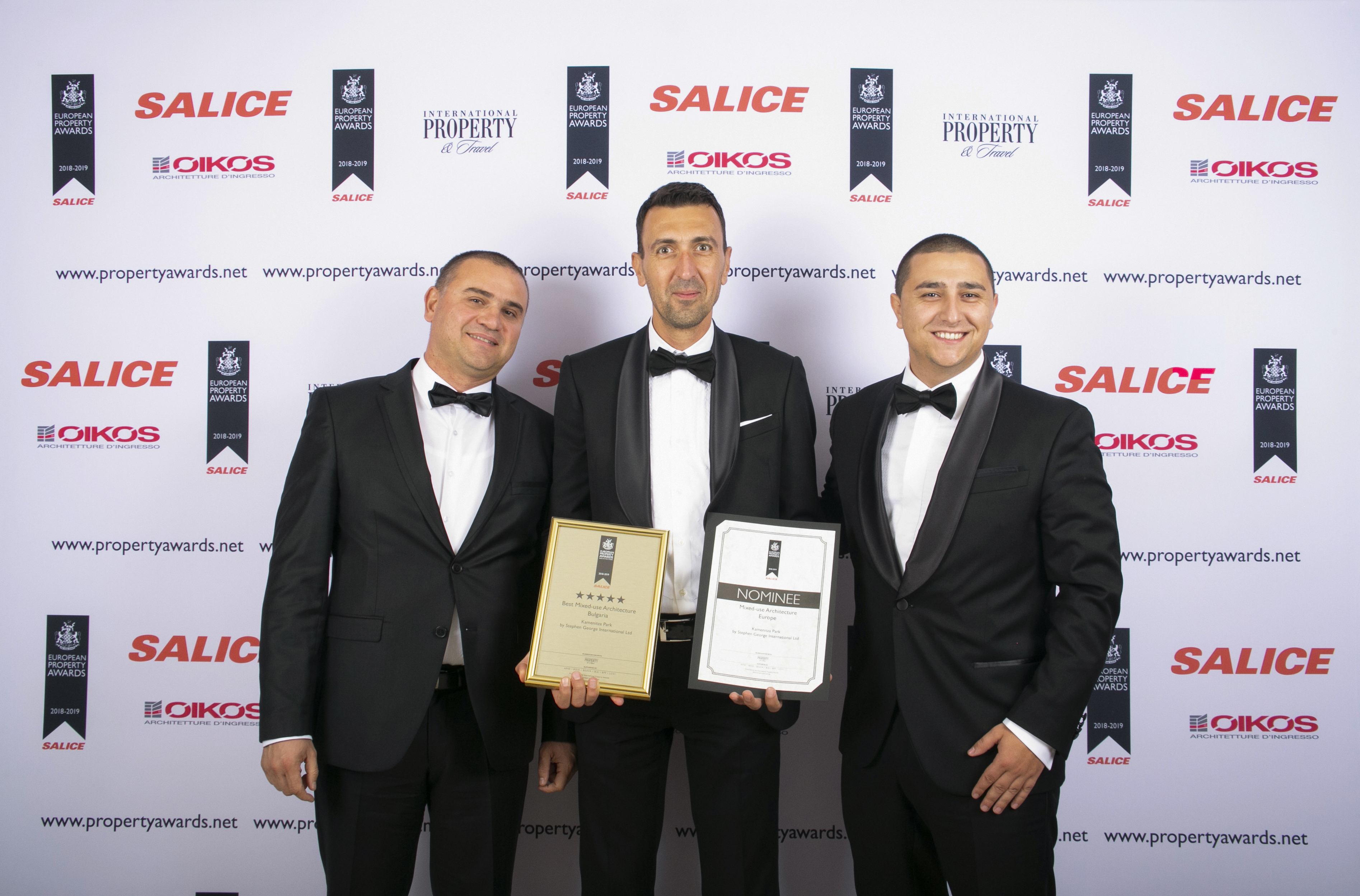 SGI with two awards at the prestigious International Property Awards