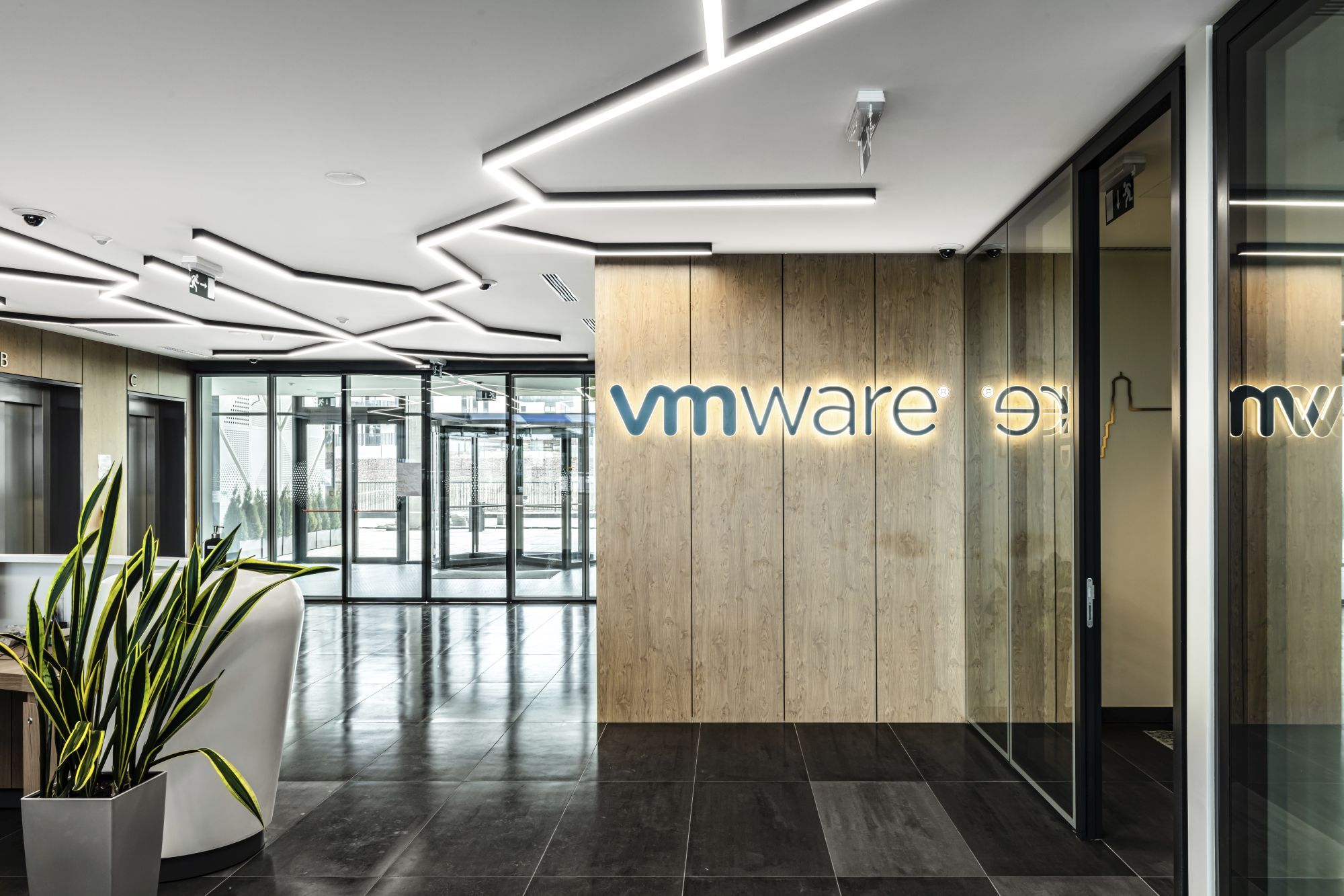 VMware office entry